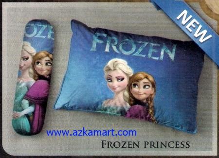 grosir bantal selimut Balmut Ilona Frozen Princess