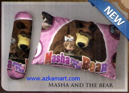 grosir bantal selimut Balmut Ilona Masha and the bear