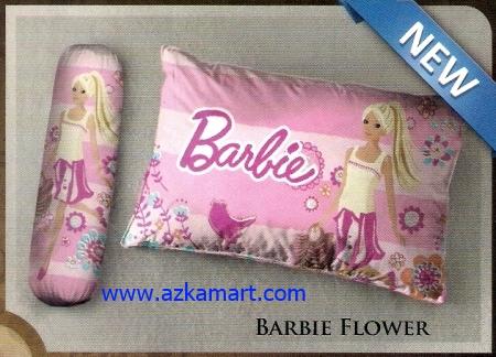 grosir bantal selimut Balmut Ilona Barbie Flower