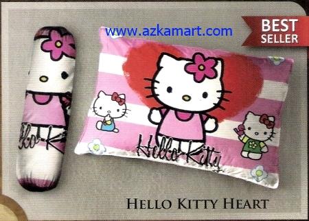 toko bantal selimut Balmut Ilona Hello Kitty Heart