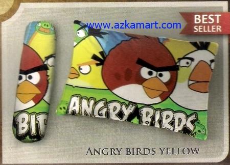 toko bantal selimut Balmut Ilona Angry Birds Yellow