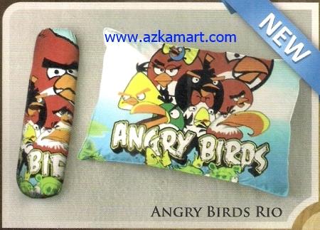 toko bantal selimut Balmut Ilona Angry Birds Rio