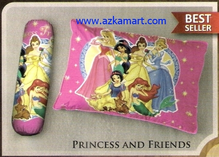 toko bantal selimut Balmut Ilona Princess and Friends