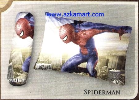 toko bantal selimut Balmut Ilona Spiderman