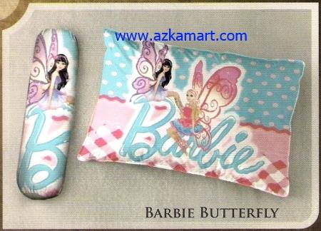 toko bantal selimut Balmut Ilona Barbie Butterfly