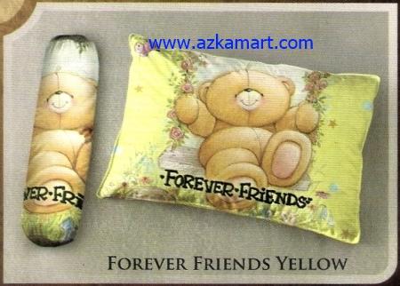 toko bantal selimut Balmut Ilona Forever Friends Yellow