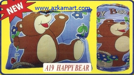 grosir murah selimut bantal Balmut Happy Bear