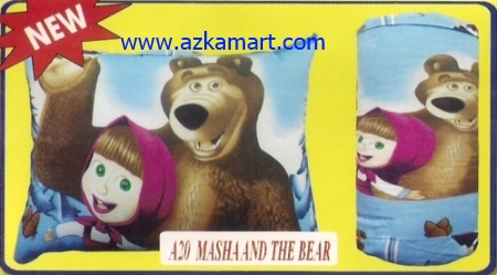 grosir murah selimut bantal balmut Masha and The Bear