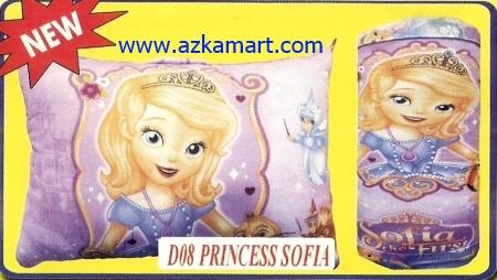 grosir murah selimut bantal  Balmut Princess Sofia