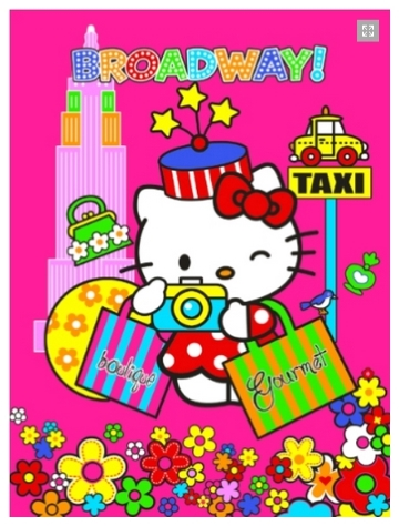 12 Selimut Rosanna Panel hello kitty