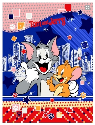 25 Selimut Rosanna Panel tom n jerry